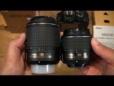 Nikon AF-S DX Nikkor 55-200mm VR II Lens