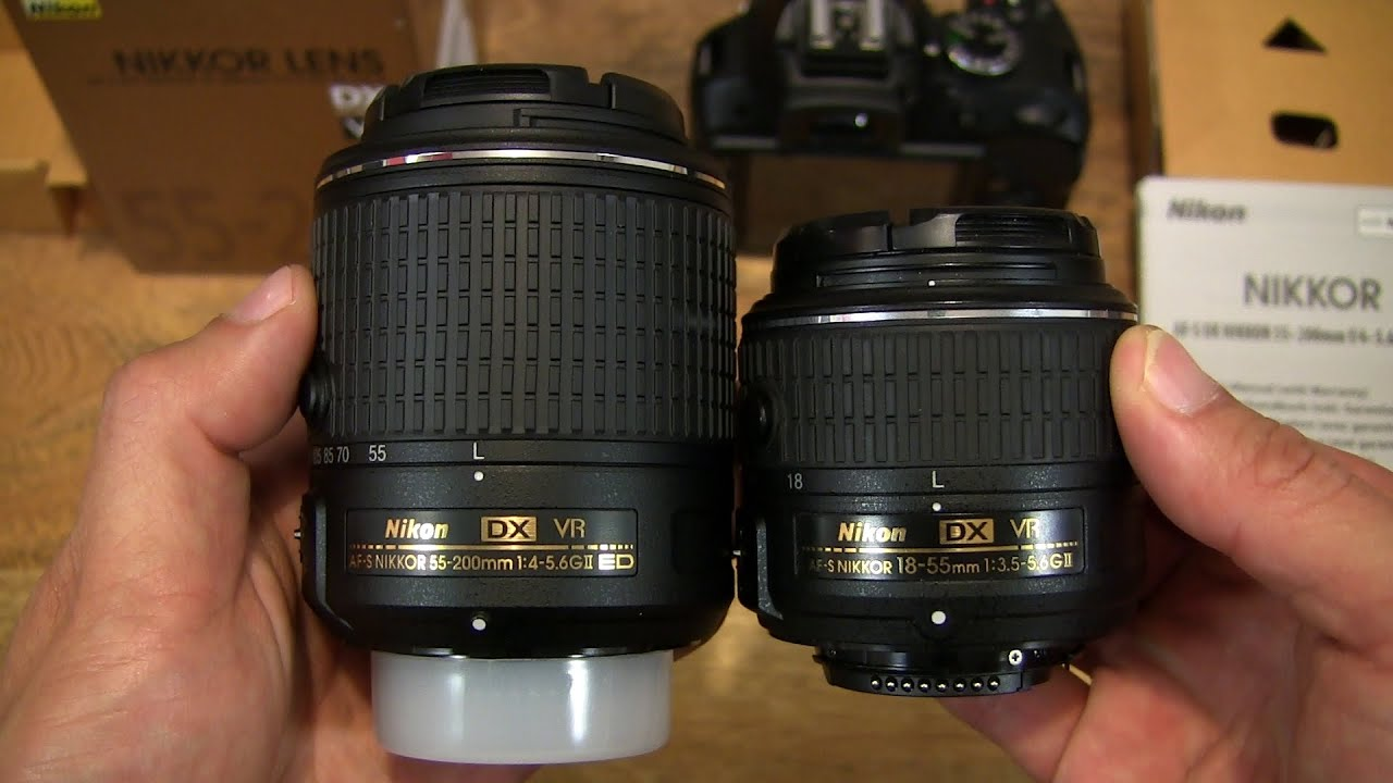 nikon afs dx nikkor 55200mm vr ii lens youtube