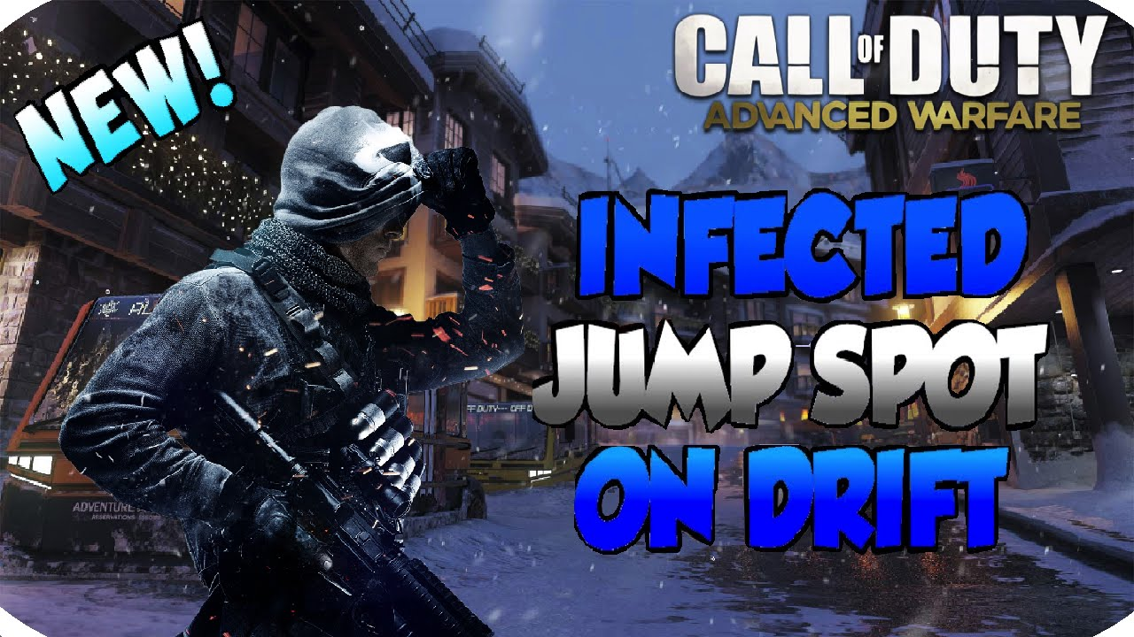 CoD AW New Secret Spot Glitch + Infected Spot in Drift