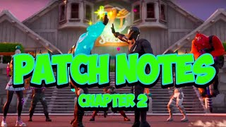 Fortnite Chapter 2 Patch Notes - Season 1