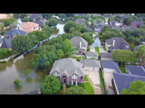 Drone Footage of Houston, TX After Hurricane Harvey
