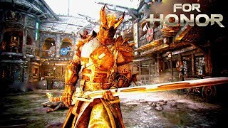 So I learned Warden... and fought a Rep 50 [For Honor]