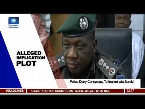 Police Deny Conspiracy To Incriminate Saraki Pt.2  News@10  16/05/18
