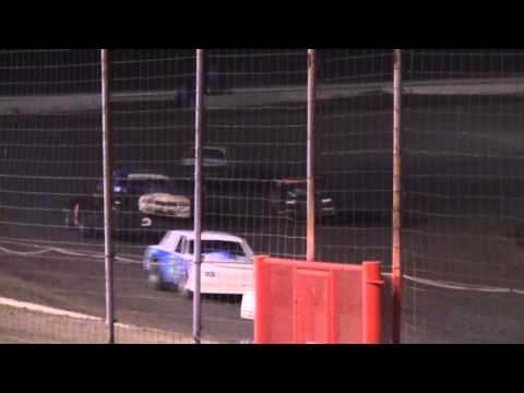 """Fridays """"Fall Brawl"""" Hobby and Pure Stock at Lubbock Speedway 9-20-13"""