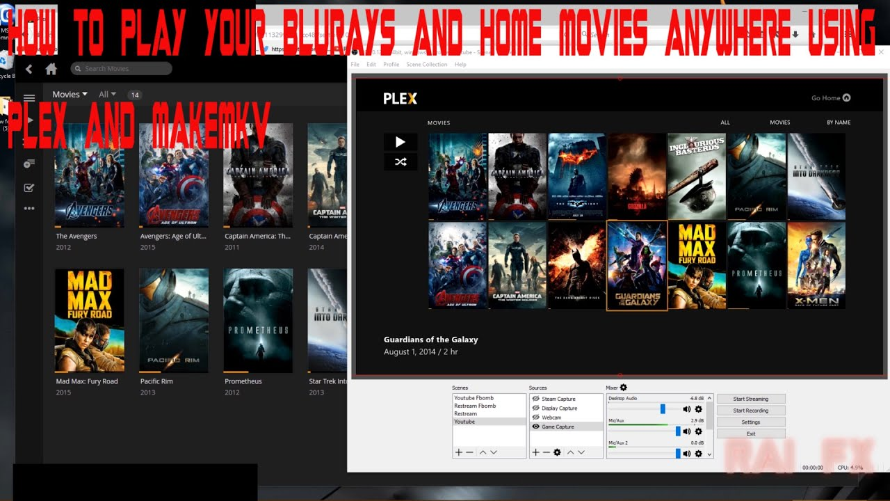 how to add movies to plex