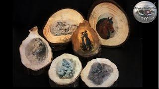 Jak przenosić zdjęcia na drewno - Pomysły plastyczne dla każdego