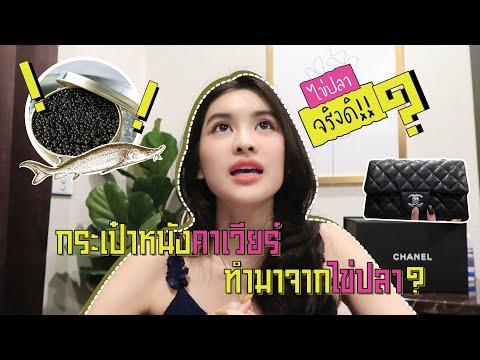 ชาแนลมีหนังอะไรบ้าง? Chanel Caviar ทำมาจากหนังปลา? |  Aon Somrutai