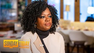 Viola Davis Opens Up About The 'Darkness' And Stigma Of Growing Up In Poverty | Sunday TODAY