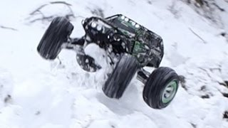 Traxxas Summit //Extreme Snow & Water Bash [HD]
