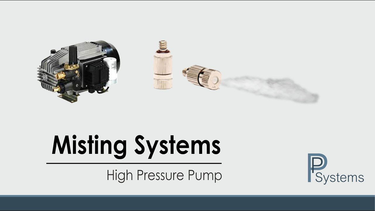 Misting System with High Pressure Pump l AR North America by PP Systems