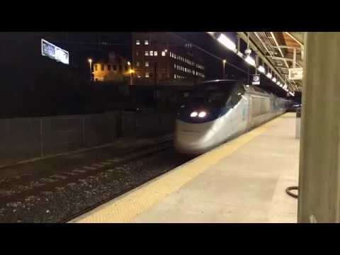 Amtrak AX #2023 Arrives Baltimore Penn Station