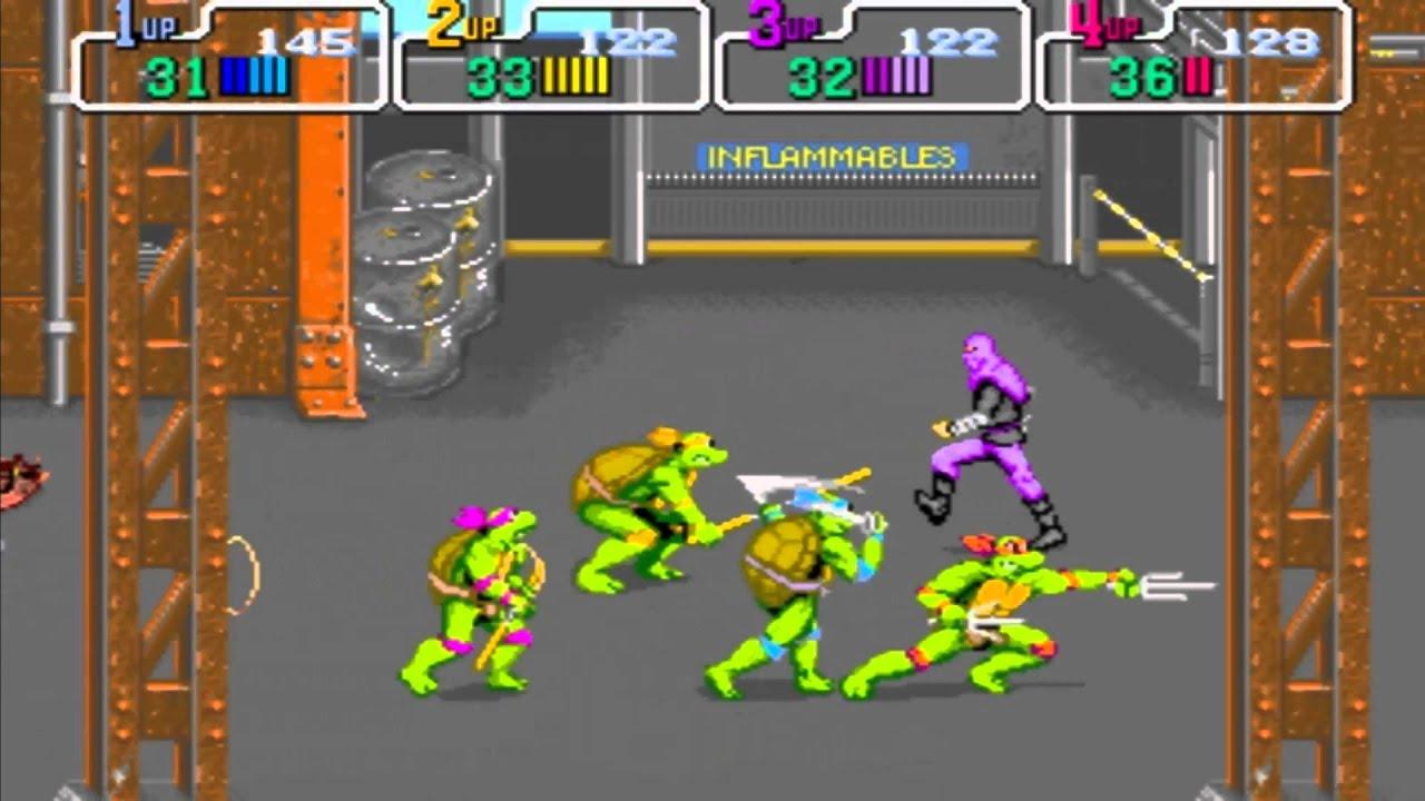 ninja turtles 4 player arcade game | Gameswalls org