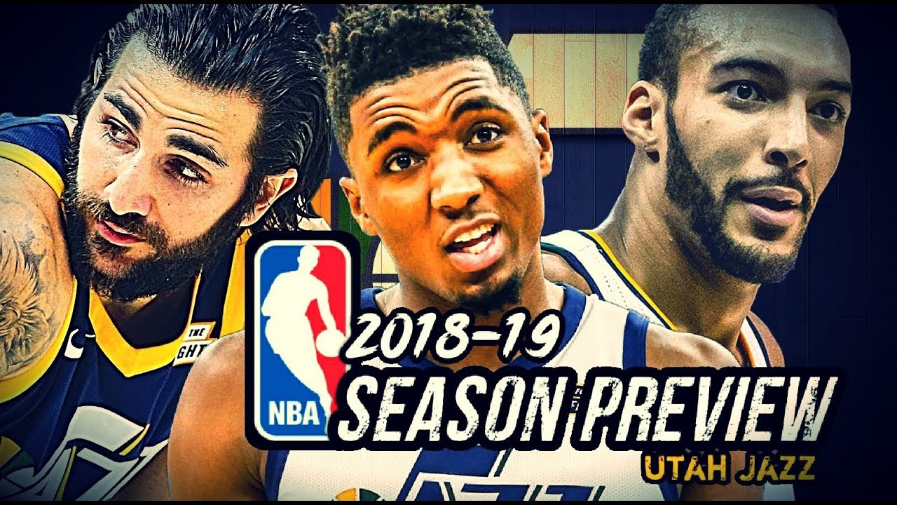 0e1c99fadc2 2018-19 NBA Season Preview  Utah Jazz  Donovan Mitchell