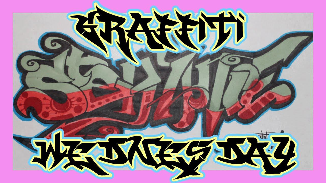 R Graffiti Letters Graffiti Wednesday: St...