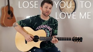 Lose You To Love Me (Acoustic) - Selena Gomez (Cover by Adam Christopher)
