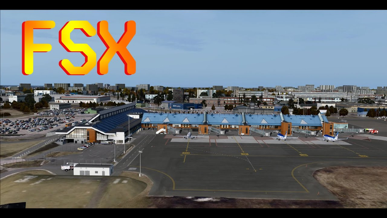 FSX Helsinki-Tallinn flight on ISDT ATR 72-500