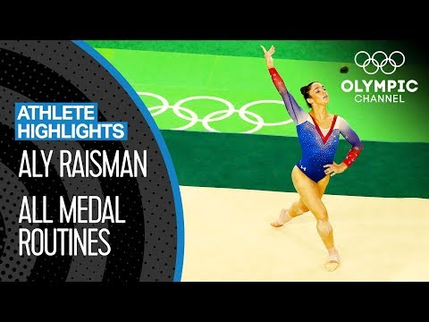Aly Raisman 🇺🇸 All Medal Routines | Athlete Highlights