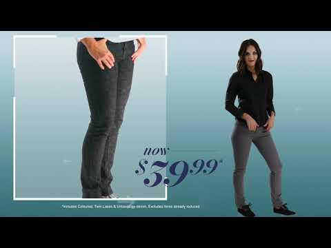 Denim Jeans now $39.99!