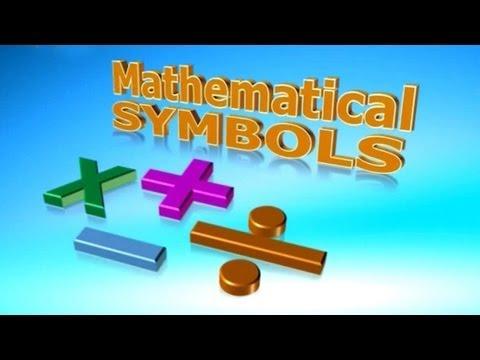 Lil Tots School VOL 2   Mathematical Symbols   HD