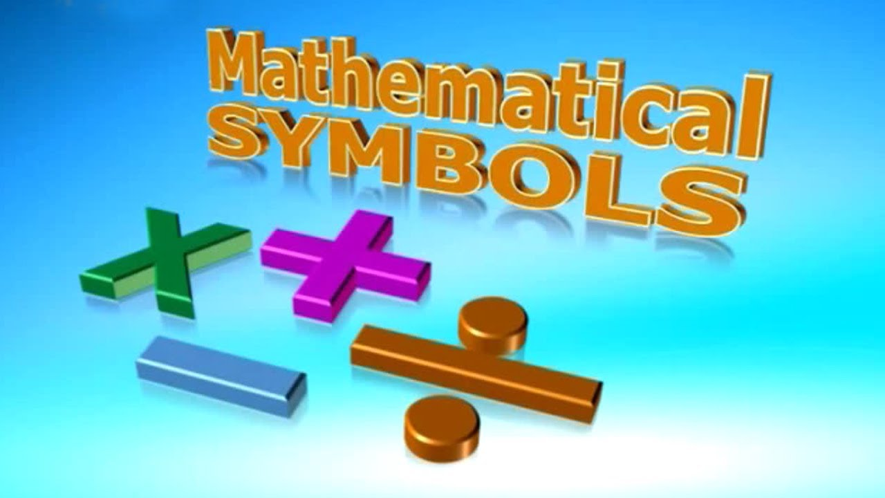 Lil Tots School Vol 2 Mathematical Symbols Hd Youtube