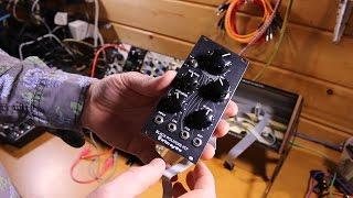 Molten Modular 07 - Installing my first row of Eurorack modules