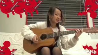 リトグリの麻珠ちゃんが、ほんのちょっとだけ、ギターを弾いてる貴重な...