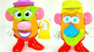 Забавная игрушка-конструктор Мистер Картошка. Игрушкин ТВ