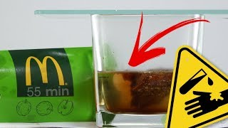 McDonald's apple pie vs. stomach acid | What do you think?