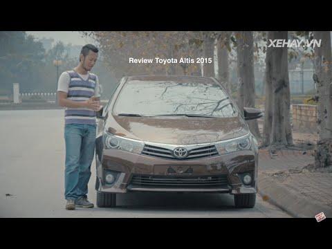 [XEHAY.VN] nhận xét xe Toyota Corolla Altis 2016 2017