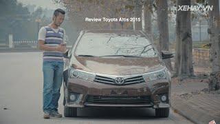 XEHAY.VN  nh gi xe Toyota Corolla Altis 2016 2017