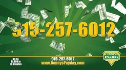 El Paso Payday Loans from Bennys