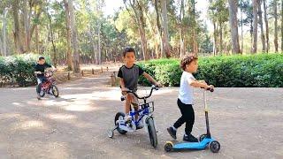 فضاء الالعاب نزهة ابن سينا للاطفال بمدينة الرباط | Parc Avicenne Ibn Sina et Forêt à Rabat 1