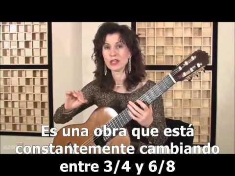 Como tocar el vals no.3 de Lauro.  Sharon Isbin.