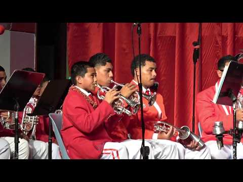 Group 1 - Tonga Secondary Schools Brass Band Festival - Music for Peace