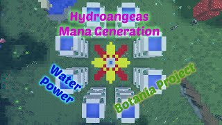 Botania Hydroangeas (Water) Mana Towers - Passive Income!