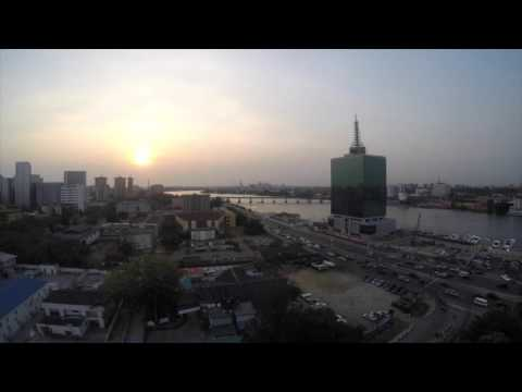 Victoria Island, Lagos Nigeria Time Lapse (best viewed in HD)