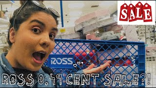 49 CENT SALE AT ROSS?!!! RUNNN…