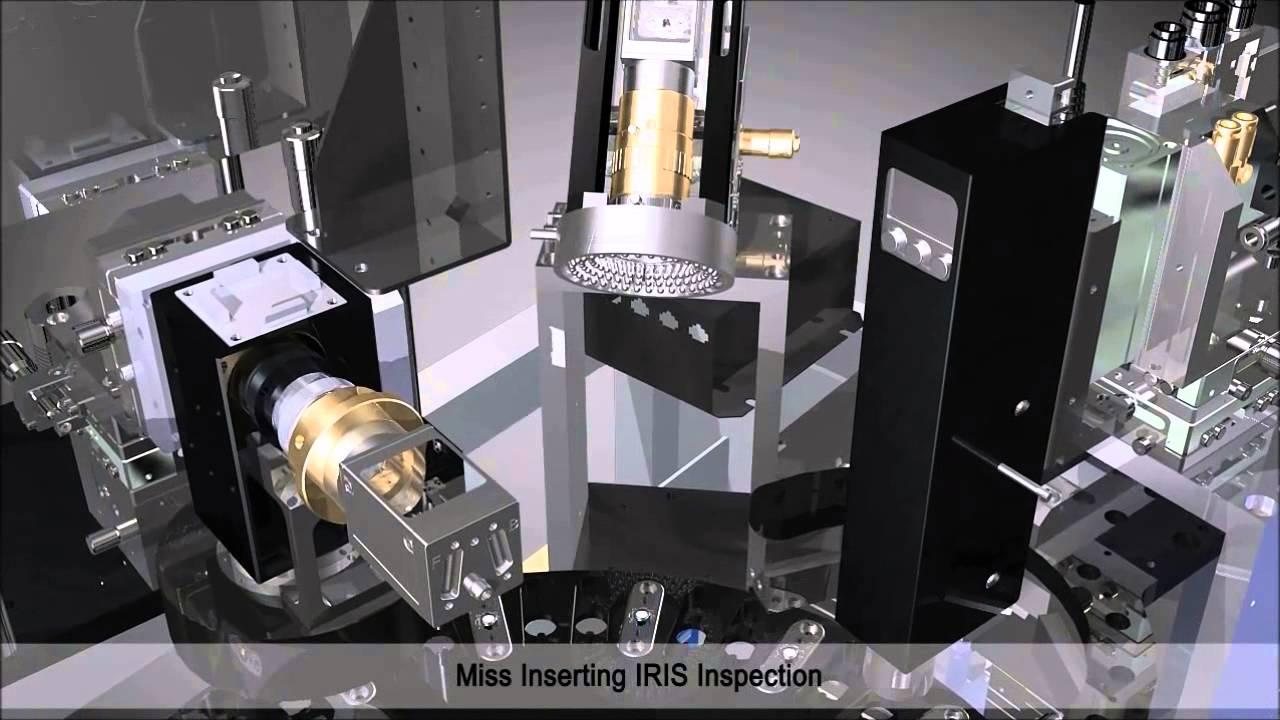 Lens Assembly Full Auto Vision Inspection Machine Korean