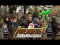 Lego Marvel Studios' Avengers: Infinity War Official Trailer Side By Side