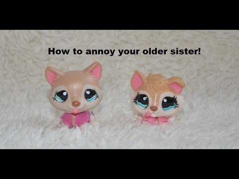 LPS 10 ways to annoy your older sister!