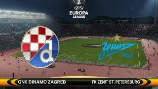 PES 2018 Europa League Cup  Match 2  Dinamo Zagreb vs FK Zenit