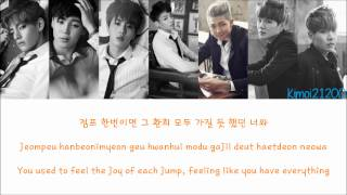 Bts 방탄소년단 Jump Hangul/romanization/english Color