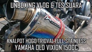 Video UnboxingVlog | Unboxing & Tes Suara Knalpot HOGO Trioval Vixion download MP3, 3GP, MP4, WEBM, AVI, FLV Mei 2018