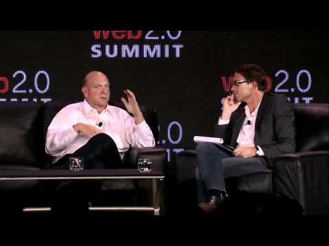 """Web 2.0 Summit 2011:  Steve Ballmer, """"A Conversation with Steve Ballmer"""""""
