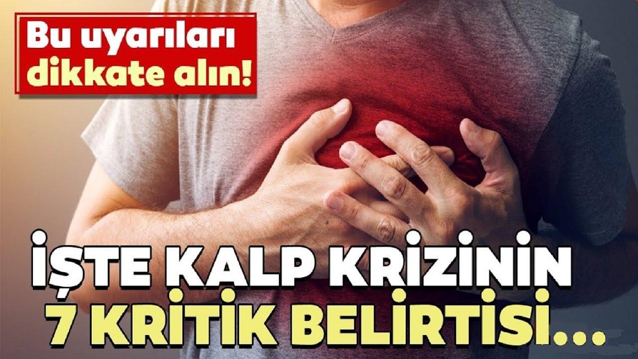 KALP KRİZİ BELİRTİLERİ NELERDİR ?- İşte kalp krizinin 7 kritik belirtisi