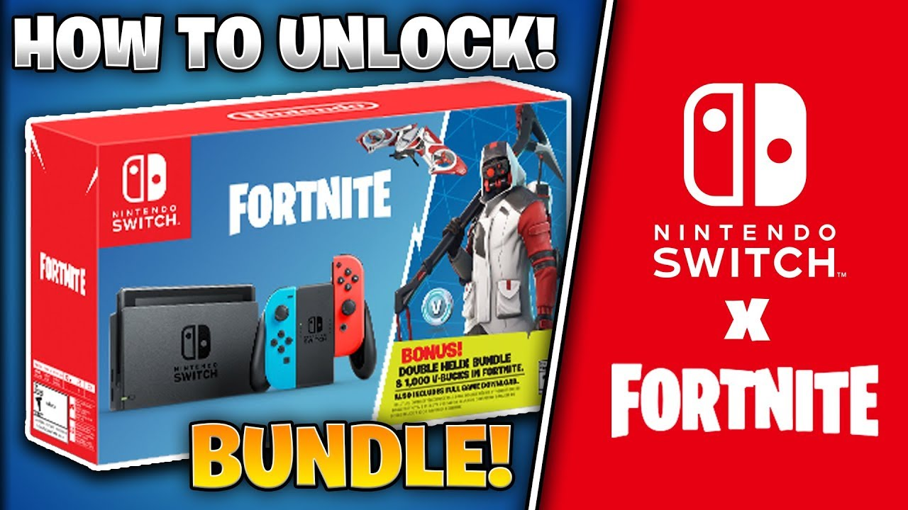 How To Unlock Fortnite Nintendo Switch Bundle Exclusive Skins And