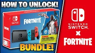 How to UNLOCK Fortnite NINTENDO SWITCH BUNDLE! *Exclusive Skins and V-Bucks!*