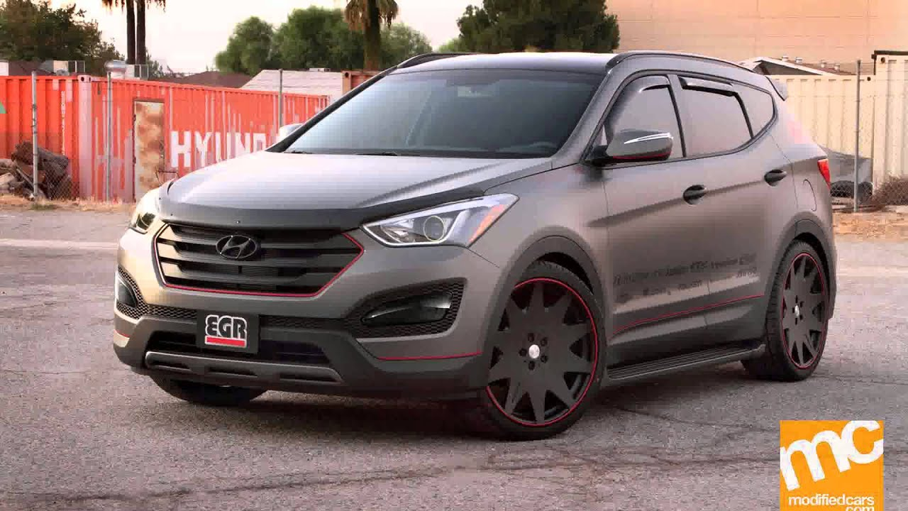 hyundai santa fe tuning - YouTube