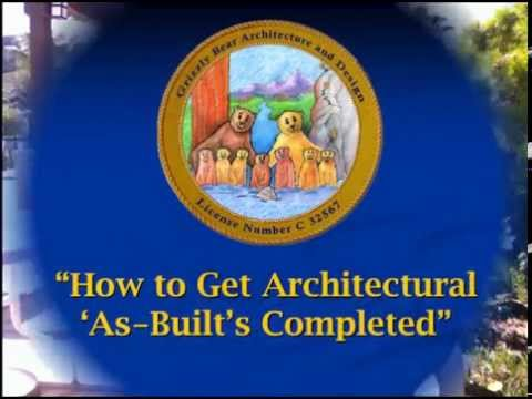 How to Get Architectural As Builts Completed