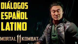 Mortal Kombat 11 | Español Latino | Todos los Diálogos | Shang Tsung | Xbox One |